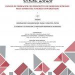 UNSE 2020  ESPACIO DE FORMACION CON PERSPECTIVA DE DERECHOS HUMANOS PARA ASPIRANTES A INGRESO UNIVERSITARIO